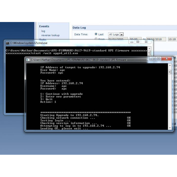 Firmware Flash for APC 96xx cards