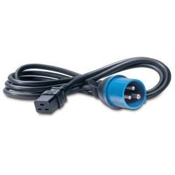 IEC 309- 16Amp to C19