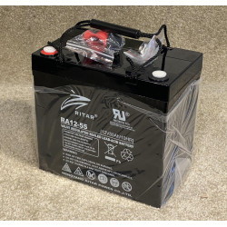 RA12-55 55AH Battery