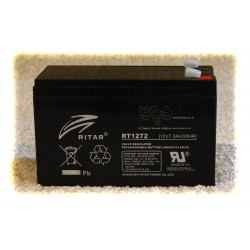 RT1272 12V 7.2AH Battery