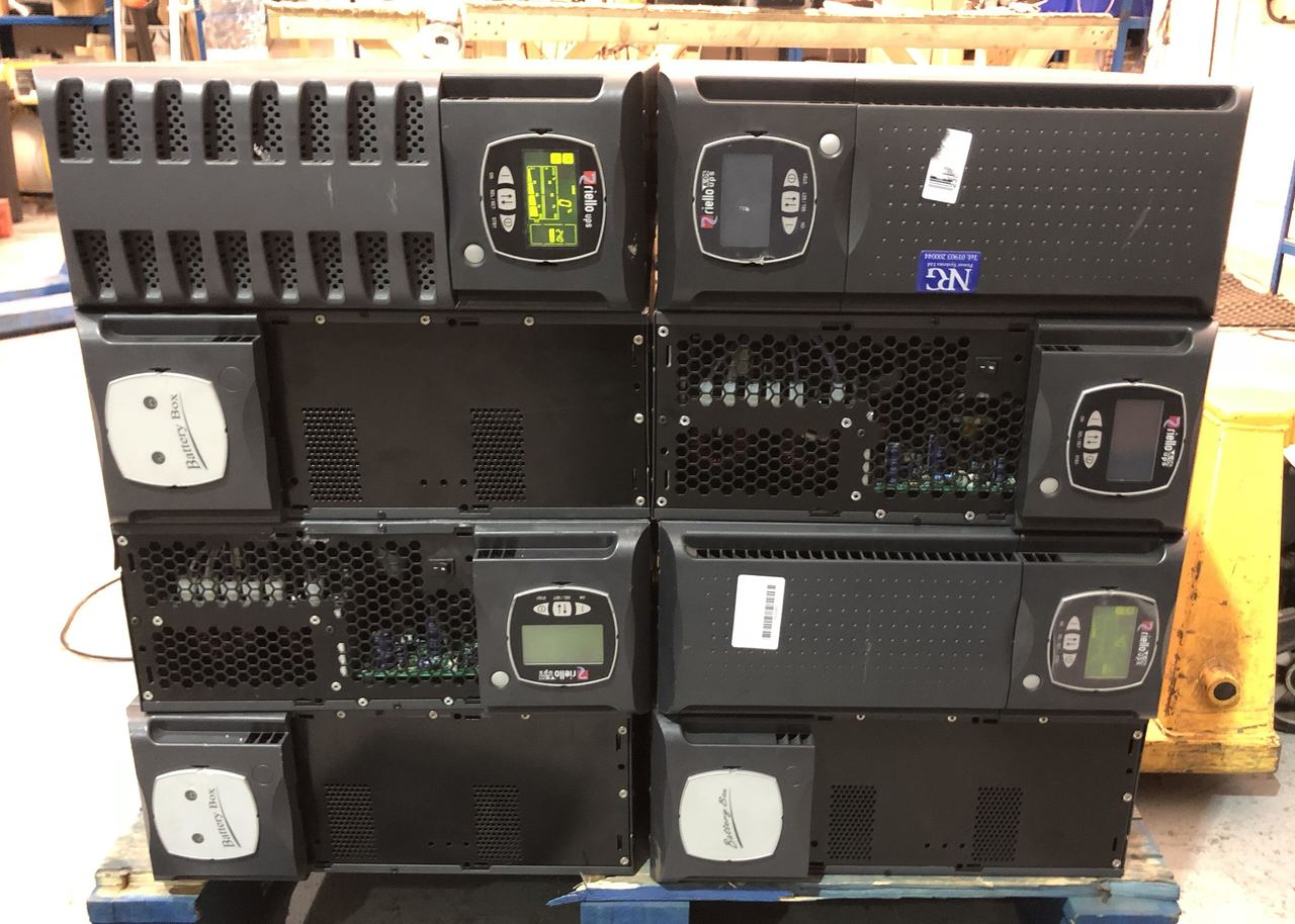 Details about Riello SDL 10000 VA UPS / new cells / fully working - 12  Month RTB - 10KVA
